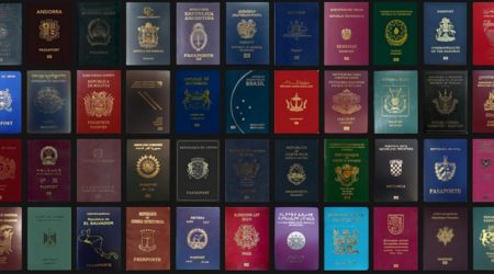 Какого цвета ваш паспорт?