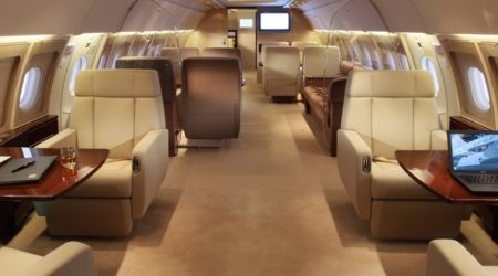 Самое дорогое место в самолёте